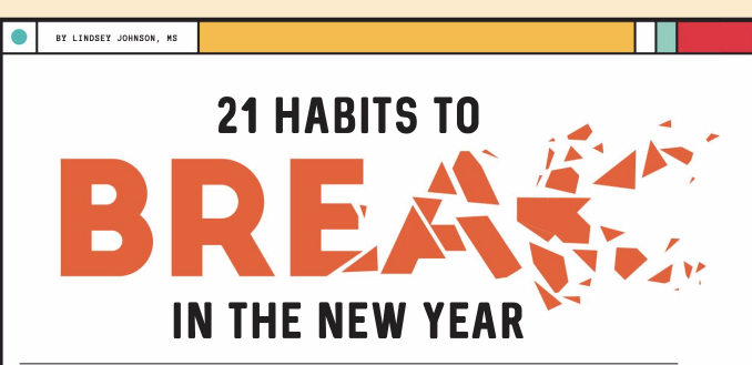 21 Habits to Break in the New Year